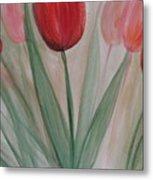 Tulip Series 4 Metal Print