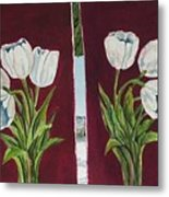 Tulips 11 And 12 Metal Print
