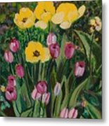 Tulips In The Capitol 2 Metal Print