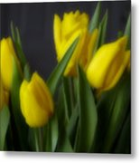 Tulips In The Kitchen Metal Print