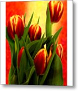 Tulips Jgibney Signature  5-2-2010 Greenville Sc The Museum Zazzle For Faa20c Metal Print