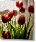 Tulips Metal Print by Karen Scovill