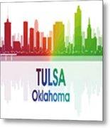Tulsa Ok 1 Vertical Metal Print