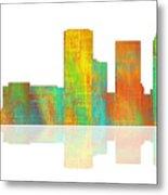 Tulsa Oklahoma Skyline-1 Metal Print