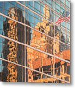Tulsa Relections 2 Metal Print by Kenny King