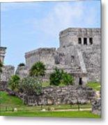 Tulum Mayan Ruins Metal Print