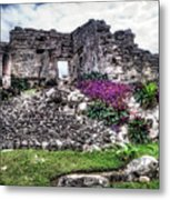 Tulum Temple Ruins No.2 Metal Print