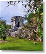 Tulum Watchtower Metal Print