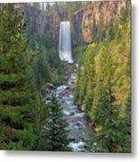 Tumalo Falls In Bend Oregon Metal Print