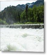Tumwater Dam Metal Print