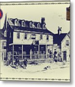 Tun Tavern - Birthplace Of The Marine Corps Metal Print