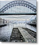 Tyne Bridge, Newcastle Metal Print