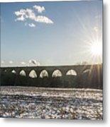 Tunkhannock Viaduct Metal Print