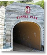 Tunnel Park, Holland Mi Metal Print