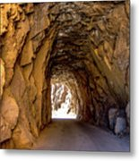 Tunnel Route 4nm Metal Print
