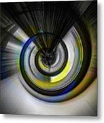Tunnel To Nowhere Metal Print