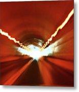 Tunnel Vision Metal Print