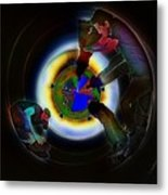 Tunnel Vision Up The Drain Metal Print