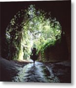 Tunnel Walk Metal Print