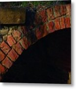 Tunnelling Metal Print