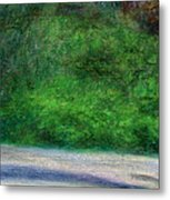 Tunnels Beach Metal Print