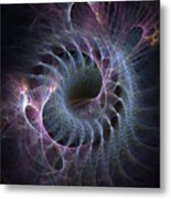 Turbination Metal Print