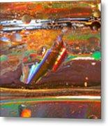 Turbulence Metal Print