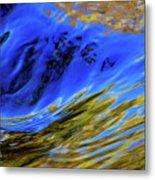 Turbulent Fall Reflections Metal Print