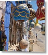 Turkish Lamps Metal Print