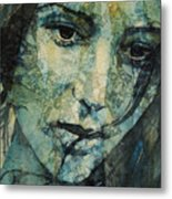 Turn Down These Voices Inside My Head Metal Print