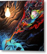 Turn The Light On Metal Print by Steve Griffith