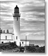 Turnberry Lighthouse Metal Print