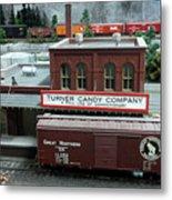 Turner Candy Co Metal Print
