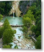 Turner Falls Grand View Two Metal Print