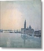 Turner Joseph Mallord William San Giorgio Maggiore In The Morning Joseph Mallord William Turner Metal Print