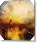Turner Joseph Mallord William The Exile And The Snail Joseph Mallord William Turner Metal Print