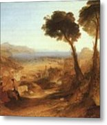Turner Joseph The Bay Of Baiae With Apollo And The Sibyl Joseph Mallord William Turner Metal Print