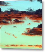 Turquoise Trail Metal Print
