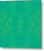 Turquoise Transitions Abstract Design Art By Omaste Witkowski  Metal Print