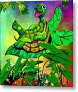 Turtle-totter Metal Print