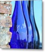 Tuscan Blue Reflections Metal Print