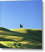 Tuscan Evening Metal Print