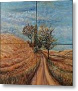 Tuscan Journey Metal Print