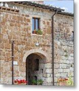 Tuscan Old Stone Building Metal Print
