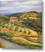 Tuscan Summer Metal Print