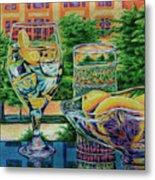 Tuscan Summer Lemonade  Metal Print