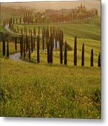 Tuscan Sunset Metal Print
