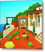 Tuscan Vacation Metal Print
