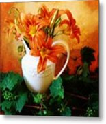 Tuscany Bouquet Metal Print