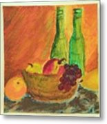 Tuscany Lunch Metal Print